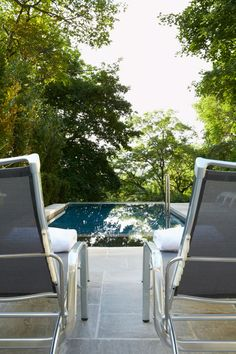 Photo: Swimming Pools with chairs