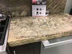Rough Edge Granite Countertop