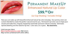 $99 OFF Enhanced Natural Lip Color! - Nouveau Clinic Atlanta