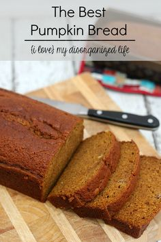 This is by far the best pumpkin bread recipe EVER. Super moist and full of flavor. 100% from scratch and super easy to make, you'll want it year-round!