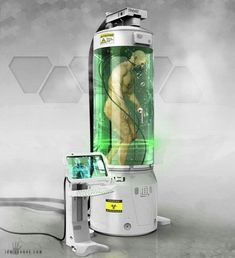 This is how I imagined the life pods that Dr. Sasha uses to look like. #amwriting #indieauthor #scifi #spaceopera