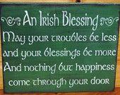 Primitive Signs Olde Irish Pub Ireland Beer Party St. Patrick's Day Man Cave Bar Tavern Leprechaun. $27.00, via Etsy.