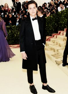 Cole Sprouse attends Fashion & The Catholic Imagination Costume Institute Gala at The Metropolitan Museum of Art in New York City (May 07)