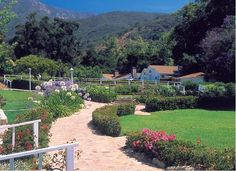san ysidro ranch - gorgeous landscaping