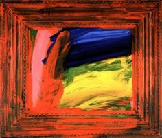 Howard Hodgkin Print, going for a walk Abstract example Abstract Example, Abstract Art, Abstract Expressionism, Howard Hodgkin, Summer Art Projects, Examples Of Art, Silk Screen Printing, Art Day, Framed Art