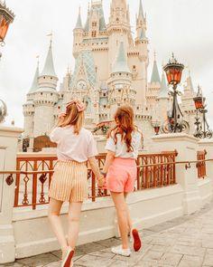 Best friends at Disney Disney Vacations, Disney Trips, Disney Parks, Walt Disney World, Disney Dream, Disney Love, Disney Magic, Disney Style, Disney World Outfits