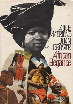 African Elegance - by Alice Mertens & Joan Broster Tribal Fashion, African Fashion, Xhosa Attire, African Paintings, African Traditional Dresses, African Tribes, Black Art, Abstract, Elegant