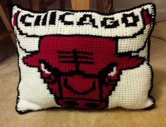 Chicago Bull Pillow
