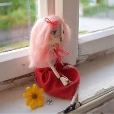 Handmade doll Amália by Majli Dolls, Handmade, Baby Dolls, Hand Made, Puppet, Doll, Baby, Girl Dolls, Handarbeit