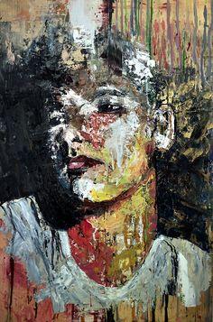 Portrait Painting Artist Study with thanks to AngryWhistler , Artist Painting, Figure Painting, Hidden Art, Portraits, Portrait Ideas, Expressive Art, Abstract Portrait, Environmental Art, Art Portfolio