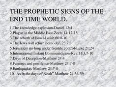 Prophetic Signs Of the End Time World Bible Verses Quotes, Bible Scriptures, Revelation Bible Study, Revelation Prophecy, Book Of Revelation Quotes, Bible End Times, Bible Study Notebook, Bible Journal, Study Journal