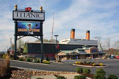 Visit Pigeon Ford and see the Titanic museum! Music Road Resort offers a Titanic Package on our Specials page Gatlinburg Vacation, Gatlinburg Tennessee, Tennessee Vacation, Tennessee Attractions, Vacation Places, Dream Vacations, Vacation Spots, Vacation Ideas, Family Vacations