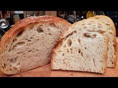 Kenyérsütés otthon / Szoky konyhája / - YouTube Artisan Bread Recipes, Hungarian Recipes, Baked Goods, Baking, Youtube, Food, Bagels, Breads, Healthy Food