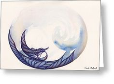 Bubble Greeting Card by Nicola Holland