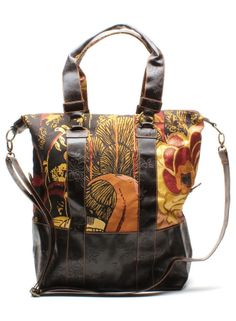 Desigual Laurita Lacroix Designer Tote Bag with Shoulder Strap - NWT