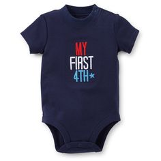 Affordable Fourth Of July Bodysuit For Baby Boys - Sweet Onesies
