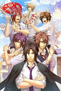 """Hakuoki SSL: Sweet School Life"" Spin-Off Gets TV Drama & Stage Play"
