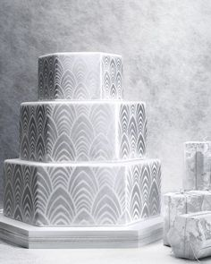 Winter 2015 marks two decades of Martha Stewart Weddings.For our big birthday, we asked eight incredible confectioners to design cakes incorporating the classic 20th anniversary color. Each is a shining example—and would be a brilliant way to fête your own special day.