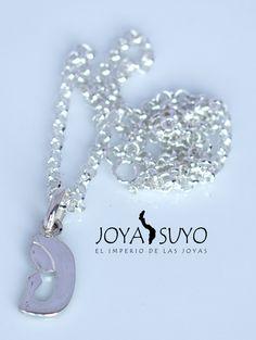 Dije de plata virgencita S/. 40  www.joyasuyo.com