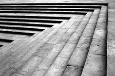 Steps at Imambara, lucknow (India)