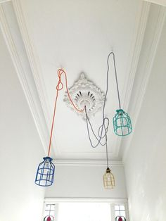 Mix-and-Match Painted Cage Lights from an Aussie Designer: Remodelista