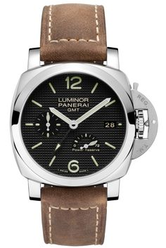 Luminor 1950 3 Days GMT Power Reserve Automatic Acciaio - 42mm PAM00537 - Kollektion Luminor 1950 - Officine Panerai Armbanduhren