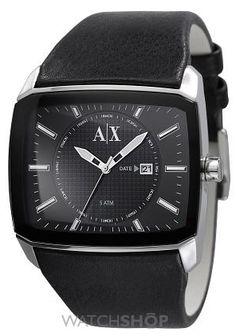Men's Armani Exchange Black Out Watch