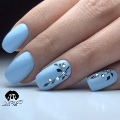 and Beautiful Nail Art Designs – – Nagelkunst Beautiful Nail Art, Gorgeous Nails, Beautiful Pictures, Stylish Nails, Trendy Nails, Fancy Nails, Blue Nails, My Nails, Nagellack Design