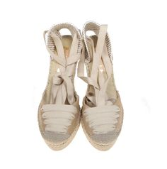 ​VIDORRETA 19285 Lace-up Oro Espadrilles | SPANISH SHOP ONLINE