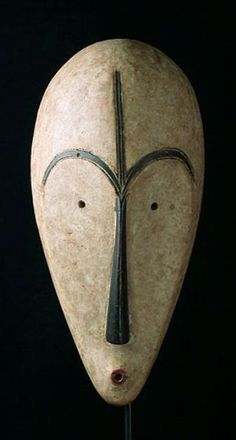 Masks from Around the World Africa Ngil Mask Fang People, Gabon