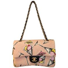 """Rare Chanel 2003-2004 Cruise Collection """"Rose Bonbon"""" Pink Bag 