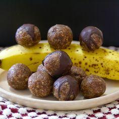 Margaret's Dish: Raw Banana Bread Bites