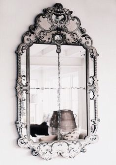 Mirror, mirror on the wall you are perfectly pretty on the wall. The details are really elegant.