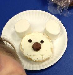 Miss Allison's Class: Polar Animals Polar Bear Snack