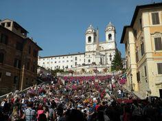 Spanish Steps, Rome print, Framed art, Street Art, Landscape Photography, Art Print, Gift, Affordable Art, Wall art, Art History, Italy by RoamingHistorian on Etsy