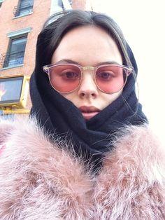 nastygal: Atlanta de Cadenet Taylor's Mix Mastery Ray Ban Sunglasses Outlet, Oakley Sunglasses, Sunglasses Women, Clubmaster Sunglasses, Look Fashion, Womens Fashion, Fashion Trends, Atlanta De Cadenet Taylor, Oakley Radarlock
