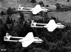 "World Air Photo (@planenut27) | Twitter RCAF ""Blue Devils"", flying de Havilland…"