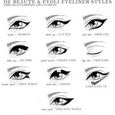 Eyeliner Styles to try!