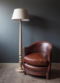 Flamant Oak Standard Lamp - £325 - no details