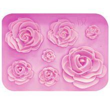 6Pcs Lady Sac Design Texture Mat Gâteau Dentelle Sucre Fondant Mold Craft DECOR NEW d