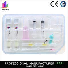 Manson Prp medical HA platelet rich plasma kit 10ml prp tubes for orthope knee joint