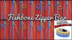 Fishbone Zipper Bar und Tutorial | Swiss Paracord