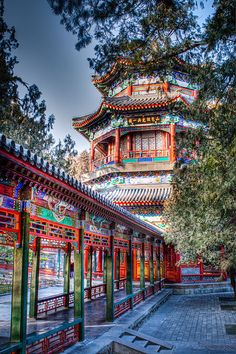 Summer Palace, Beijing, China.