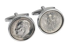Men's Dime Cuff Links (Pair) US Mint Coins | Rhodium Desi... https://www.amazon.com/dp/B00DCV153A/ref=cm_sw_r_pi_dp_U_x_nfGzAb61H8C4P