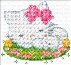 Cross Stitch   Cats xstitch Chart   Design