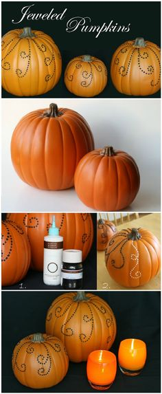 20 Easy DIY Halloween Pumpkin Decorating Ideas - Page 2 of 4 DIY - easy halloween pumpkin ideas