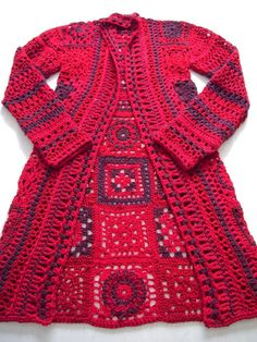 34 diy crochet granny square jacket cardigan free patterns collections