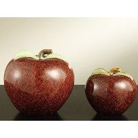 Apple Statues will look right at home in the kitchen!