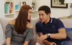 Split screen love team Alden Richards and Maine Mendoza tell us how they keep the ‪‎AlDub‬ magic alive. Maine Mendoza, Alden Richards, What Next, How To Relieve Stress, Real Talk, Ruffle Blouse, Couple Photos, Instagram Posts, Mens Tops