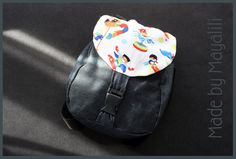 Edan baby backpack (pattern by ithinksew.com)